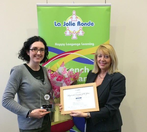 Julie Olliero - La Jolie Ronde Licensee of the Year 2015 for Scotland and Northern England